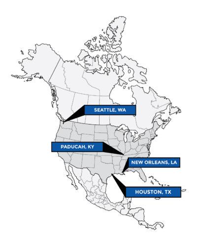 Karl Senner Services Map