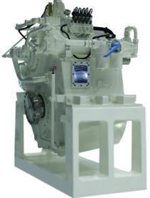 down angle gearbox