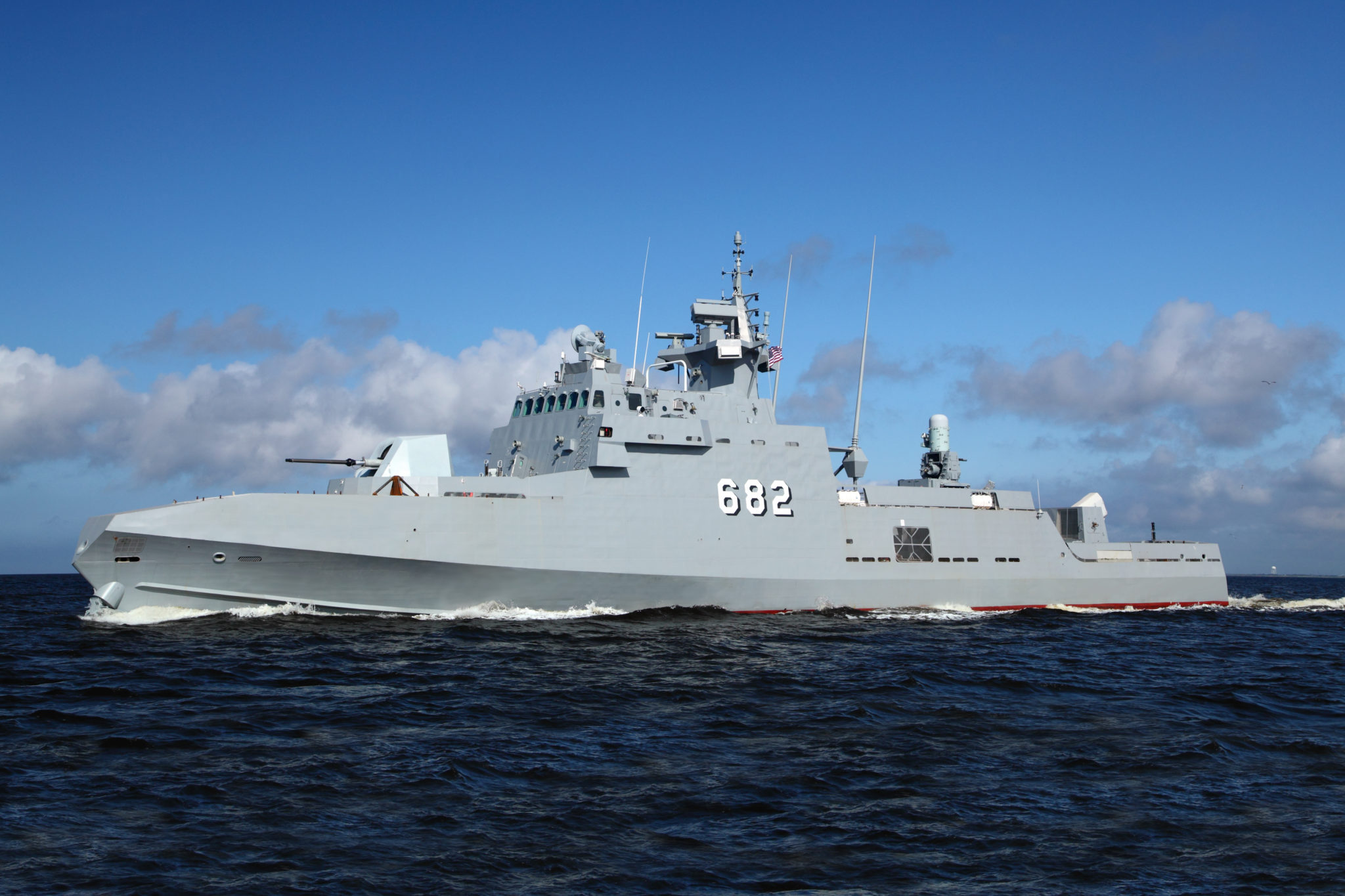 fmc1 sea trials
