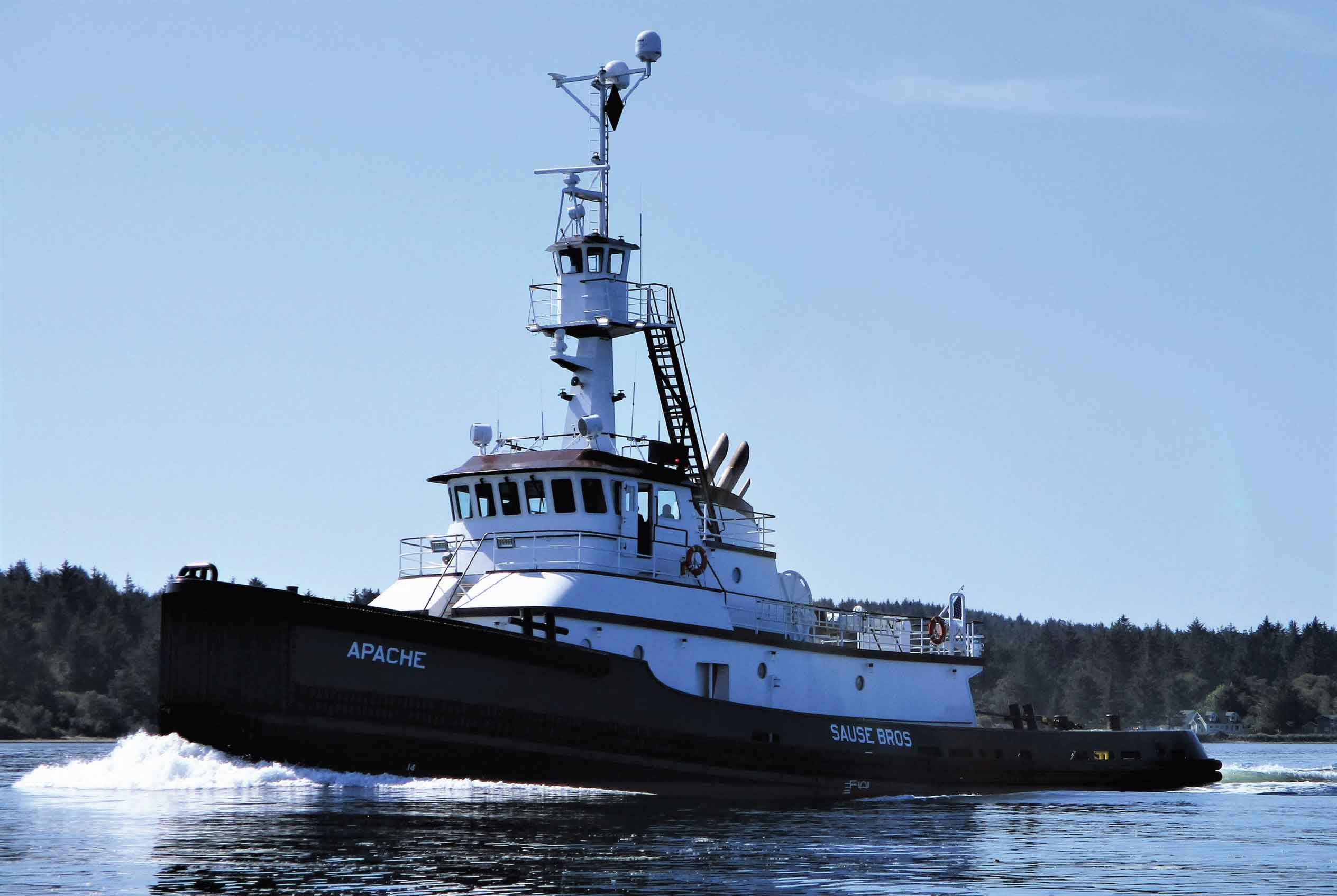 Karl Senner LLC recently provided gearboxes onboard the M/V Apache and M/V Geronimo.